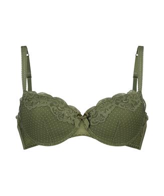 Formpressad bygel-bh Marion, grön