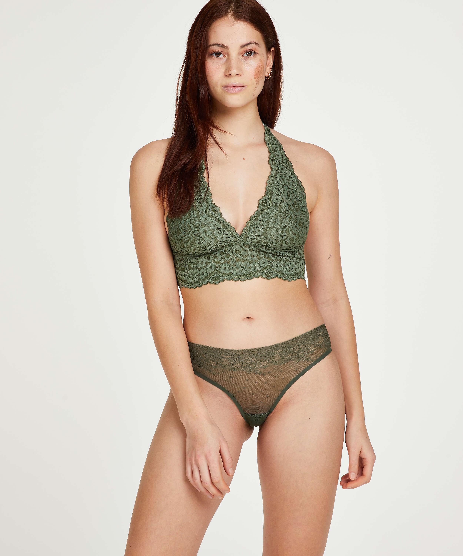 Brazilian-trosa Invisible, grön, main