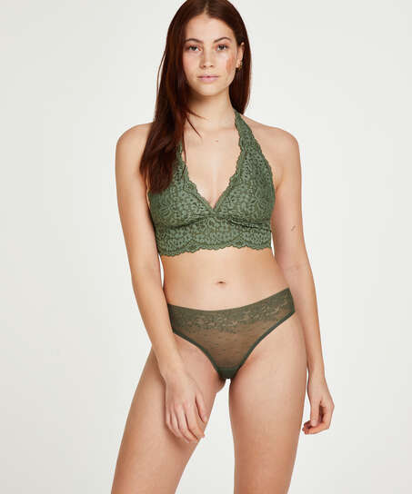 Brazilian-trosa Invisible, grön