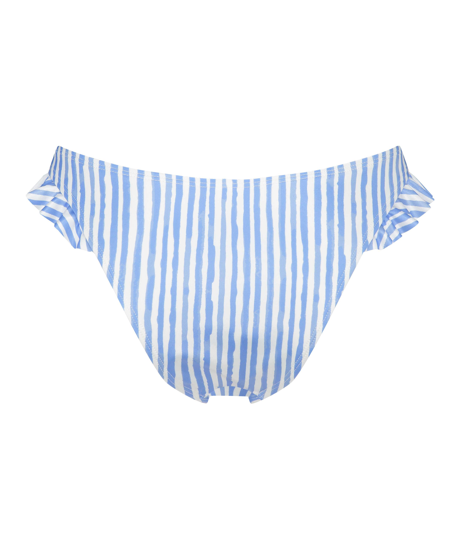 Julia Bikini-underdel med höga ben, blå, main