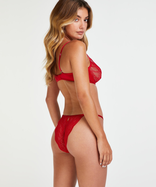 Isabelle brazilian-trosa, röd, main