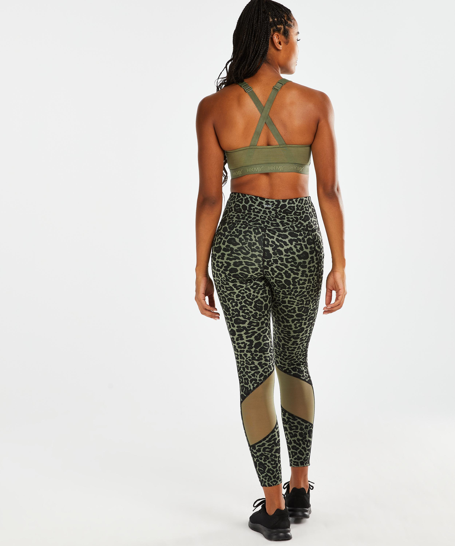 HKMX Oh My Squat sportleggings med hög midja , grön, main
