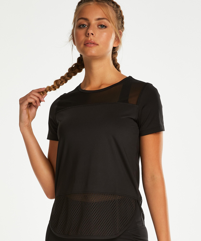 HKMX T-shirt prestanda, Svart, main