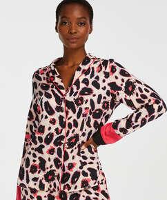 Duckie pyjamasjacka långärmad, Rosa
