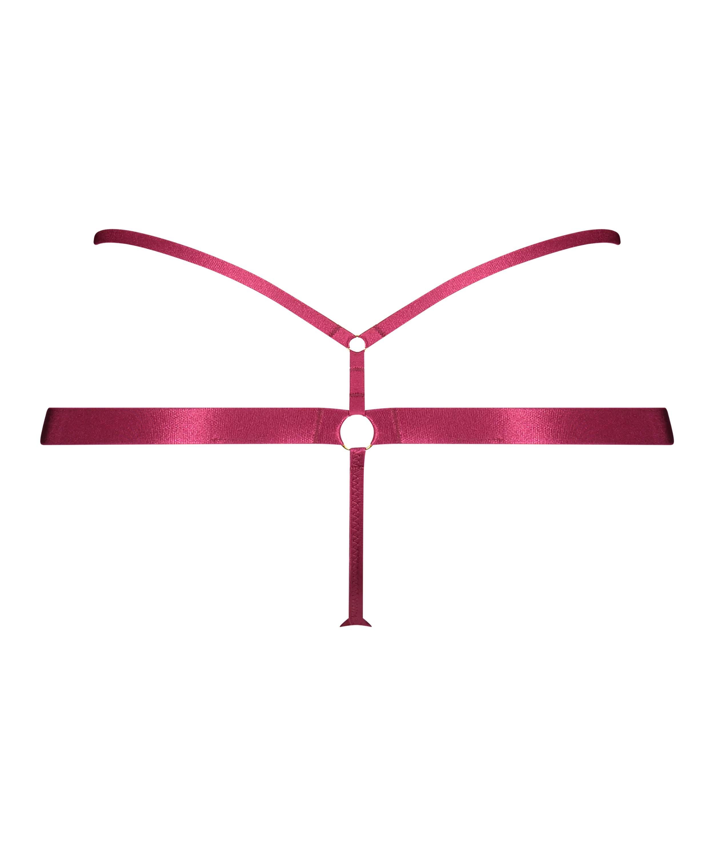 Stringtrosa Jacky, röd, main