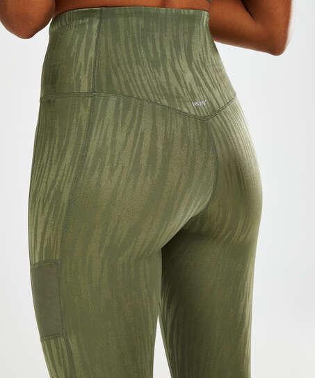 HKMX Sportlegging hög midja Mojave, grön