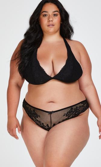 Brazilian-trosa Bianca, Svart