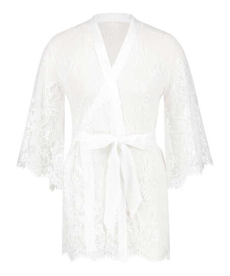 Kimono Lace Isabelle, Vit