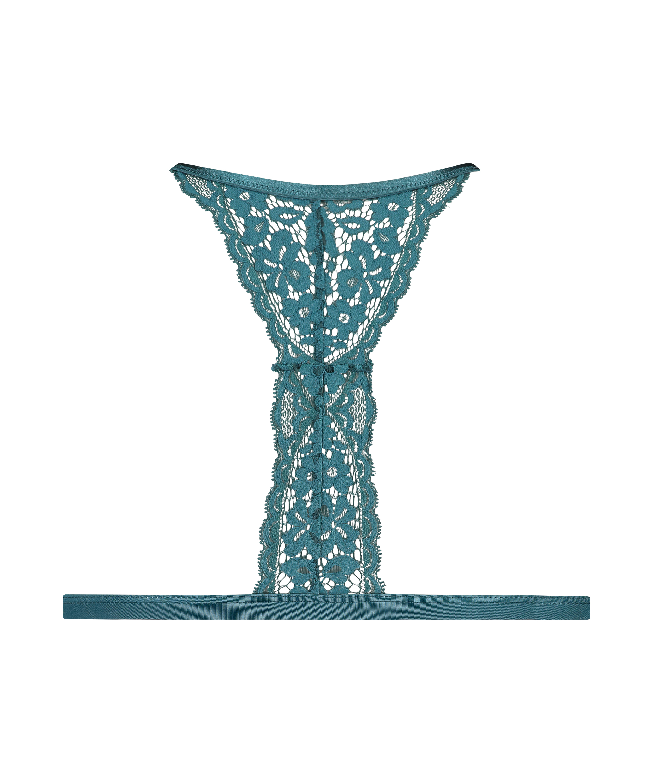 Vadderad triangel-bralette Rose, blå, main