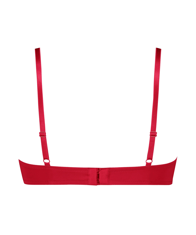 Formpressad bygel-bh Plunge, röd, main