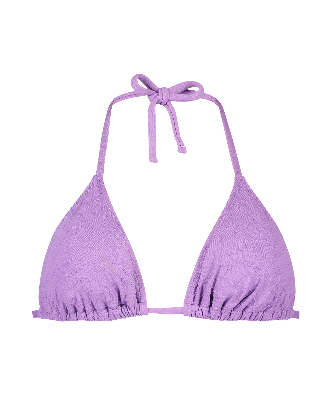 Libby triangel-bikiniöverdel, Lila, main