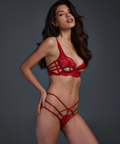Evey stringtrosa, röd
