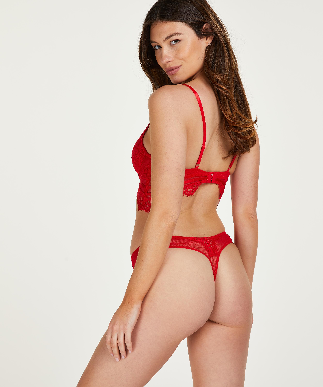 Stringtrosa Marilee, röd, main
