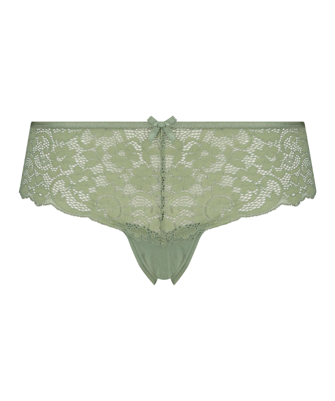 Mia Brazilian-shorts, grön, main
