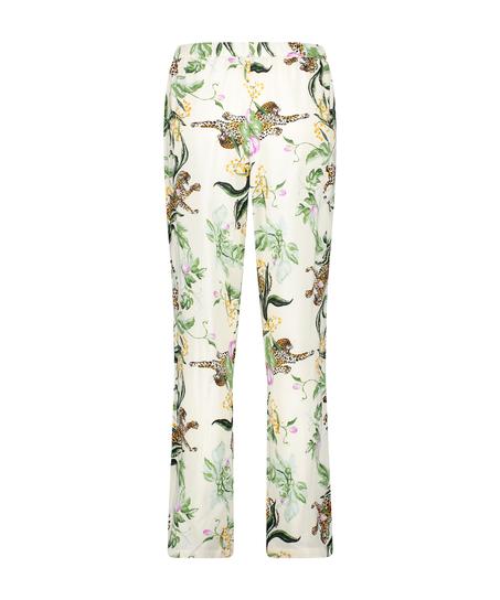 Stickade pyjamasbyxor, Rosa