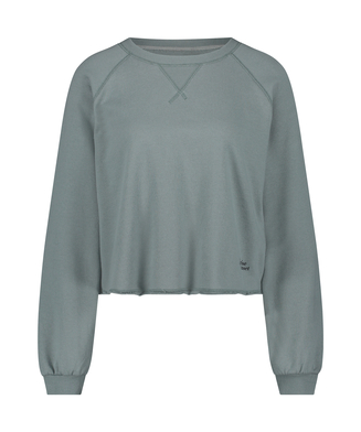 Sweat French Long-Sleeved Top, grön