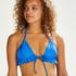Suze triangel-bikiniöverdel, blå