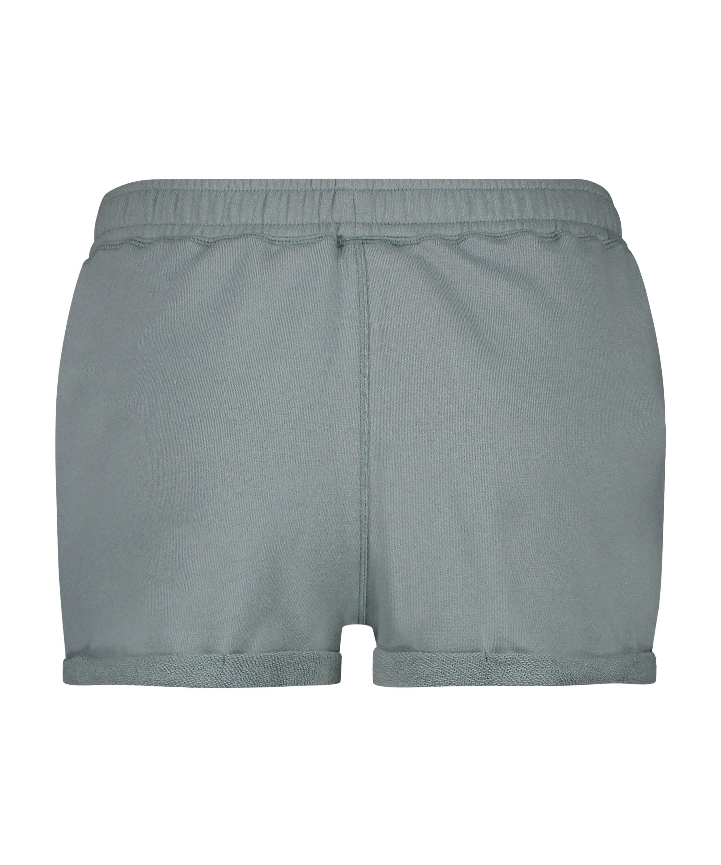 Sweat French Shorts, grön, main