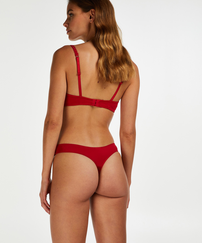 Stringtrosa Maya, röd, main