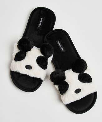 Panda-tofflor, Svart