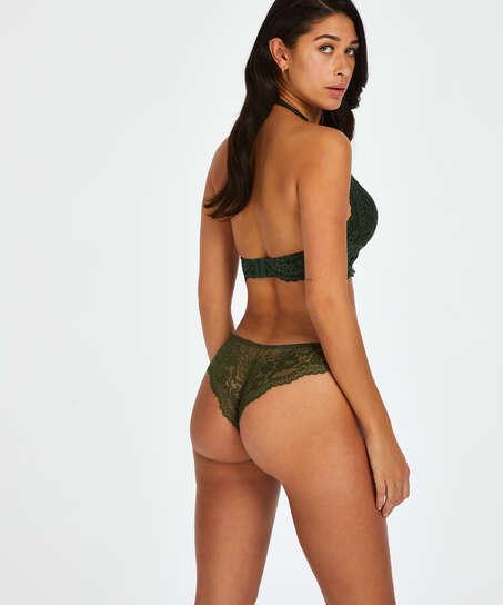 Chelsey brazilian-trosa, grön