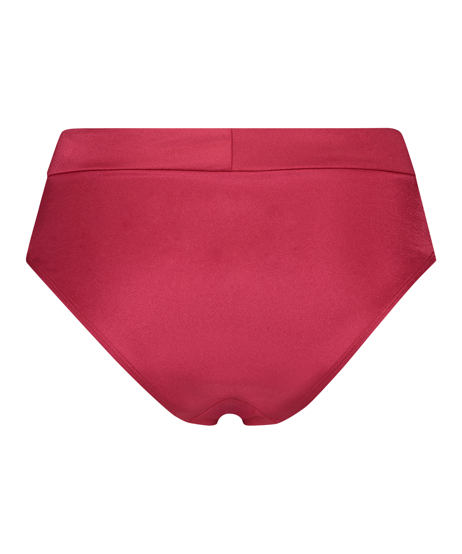 Lola hög bikiniunderdel, röd, main