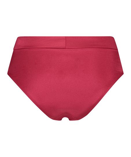 Lola hög bikiniunderdel, röd