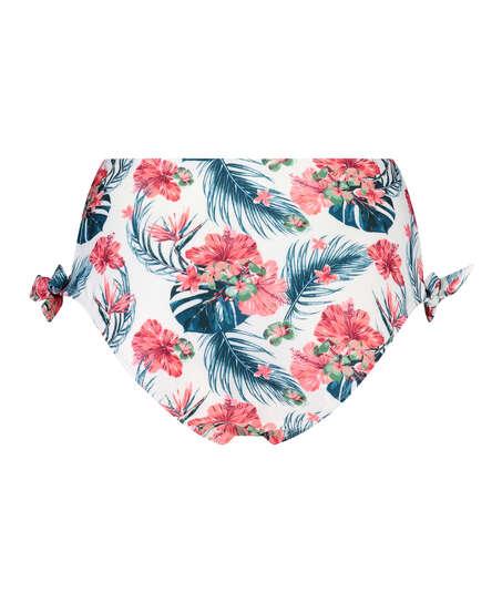 Vintage djärvt skuren bikiniunderdel, Vit