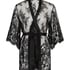 Kimono Lace Isabelle, Svart