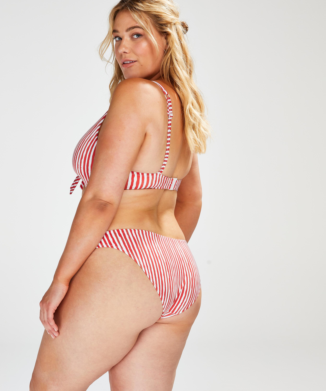 Julia rio-bikiniunderdel, röd, main