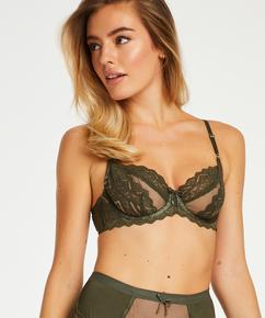 Rabella I AM Danielle icke-vadderad bygelbehå, grön