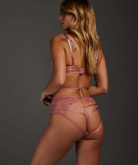 Alabama open crotch Brazilian, Rosa