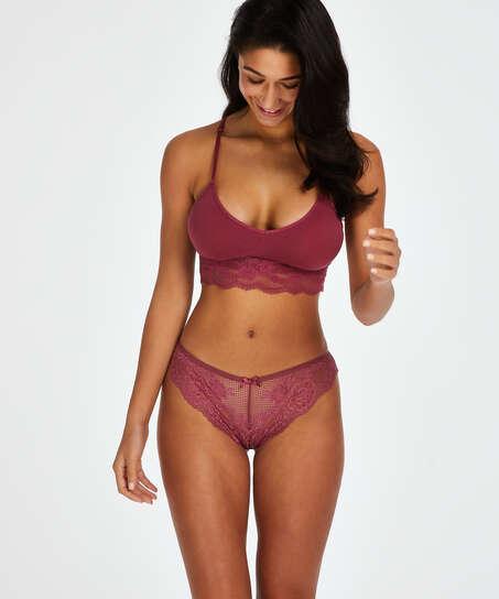 Brazilian-trosa Bianca, röd