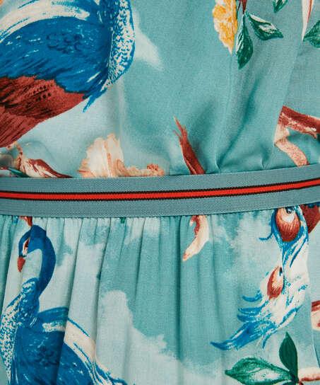 Pyjamasshorts, blå