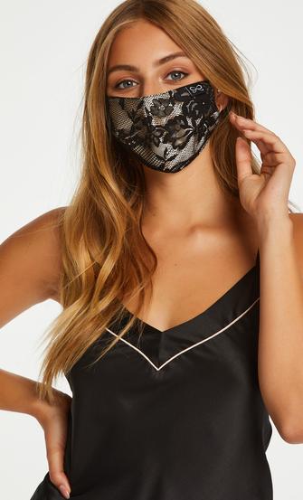 Mask satäng, Svart