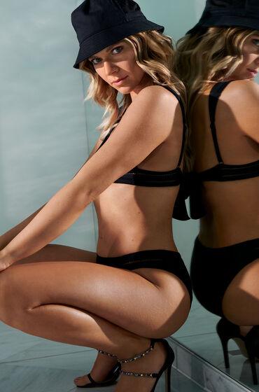 Hunkemöller Rio bikiniunderdel Maya Svart