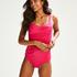 Rio Deluxe bikiniunderdel med hög midja, Rosa