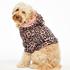 Onsie i fleece för hundar, Rosa