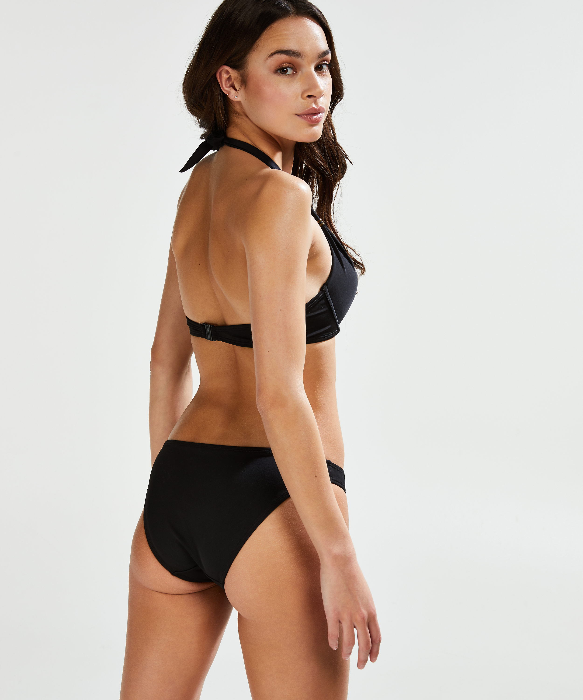 Formpressad push-up-bikinitopp Sunset Dream Storlek A - E, Svart, main