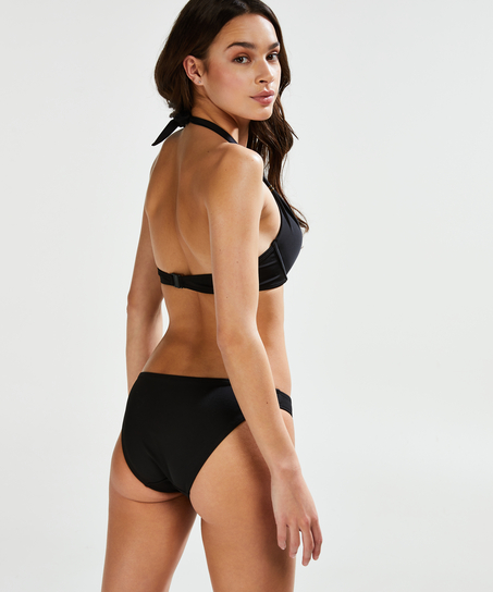 Formpressad push-up-bikinitopp Sunset Dream Storlek A - E, Svart