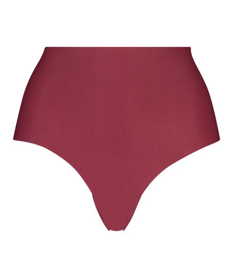 Brazilian-trosa Invisible High Waist, röd