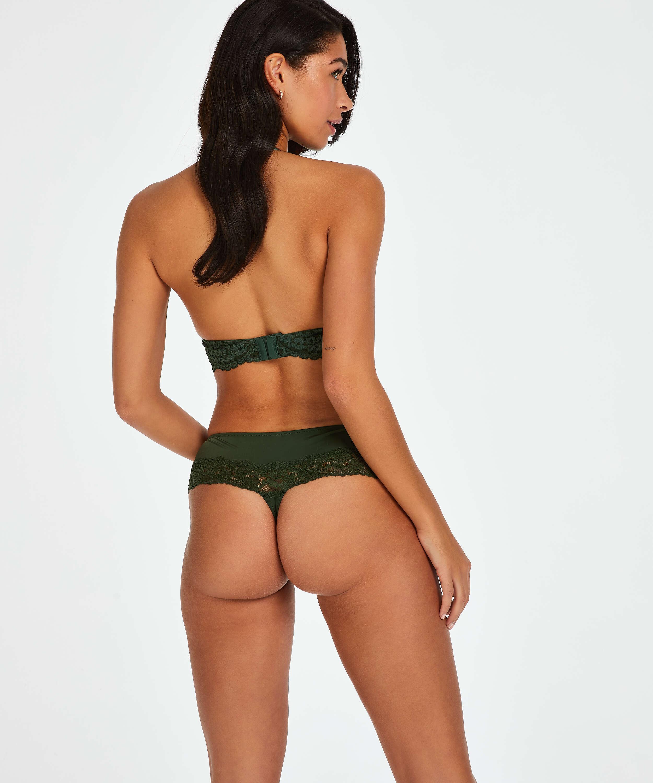 Boxer-stringtrosa Paris, grön, main