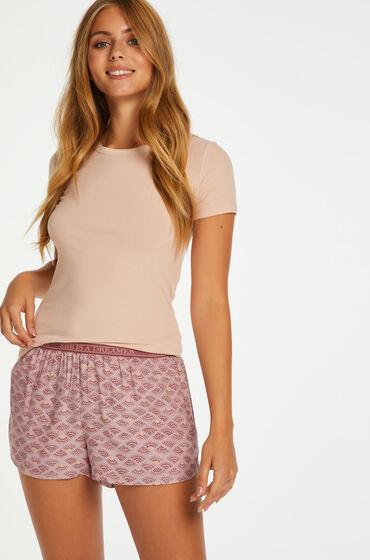 Hunkemöller Pyjamasshorts Rosa