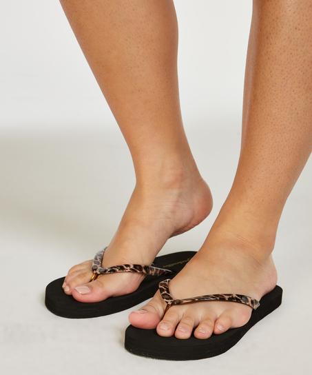 Sandaler Fancy, Svart