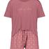 Kort pyjamasset, Rosa