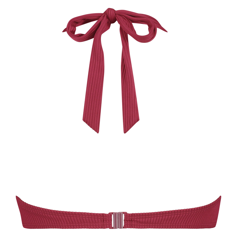 Formpressad bikiniöverdel med bygel Golden Rings, röd, main