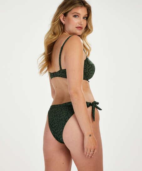 Tonal Leo brazilian-bikiniunderdel, grön