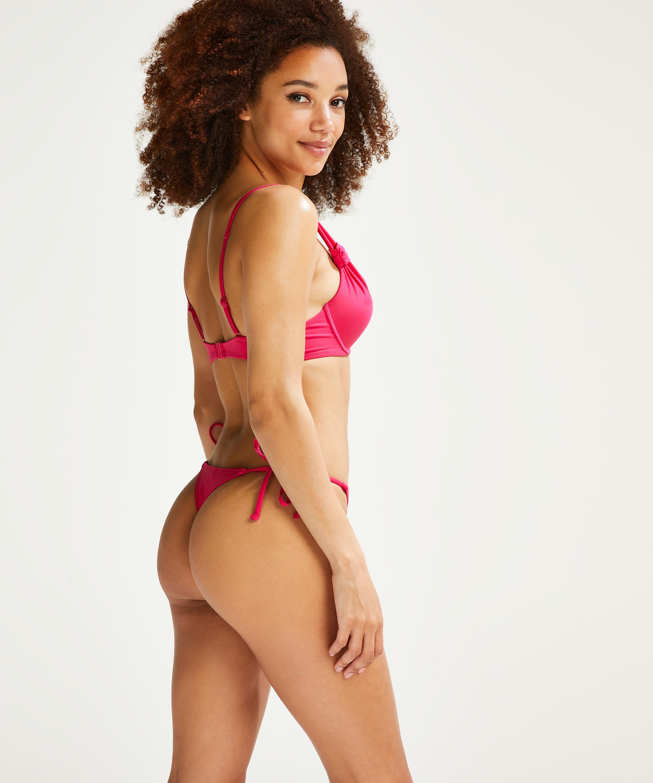 Luxe push-up bikini-överdel Storlek A - E, Rosa, main