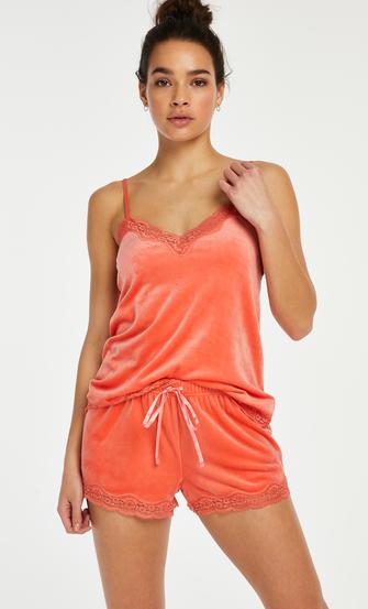 Sammet-spetslinne, Orange