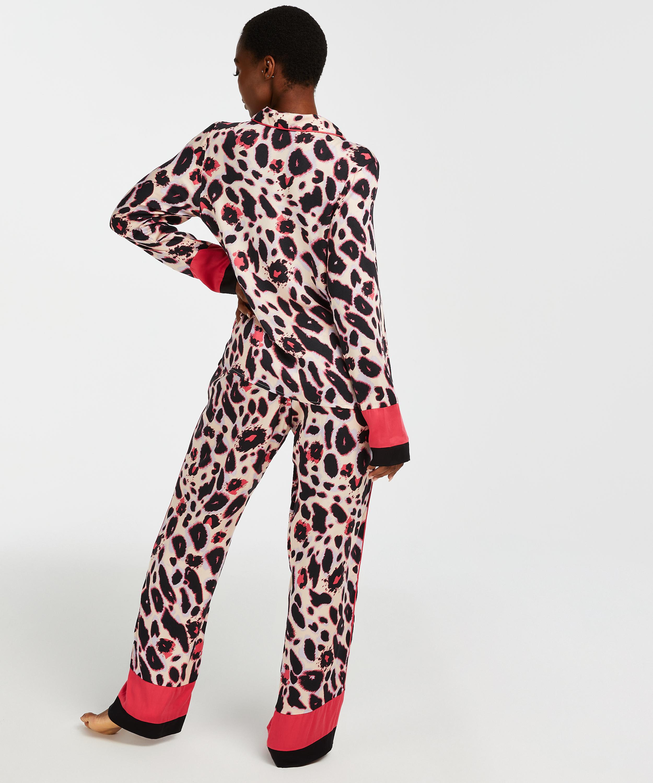 Duckie pyjamasjacka långärmad, Rosa, main